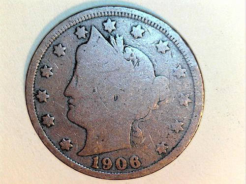 1906 Liberty Nickel----Good (price dropped 06/29)