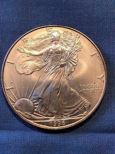 American Eagle $1 Silver 1996