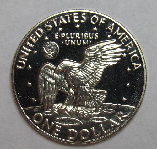 1974 S Proof Eisenhower Dollar