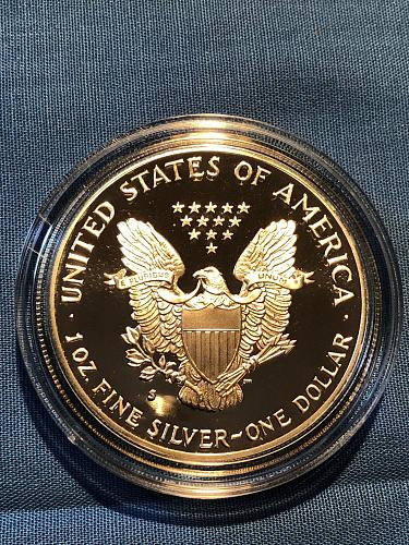 American Eagle $1 Silver 1991