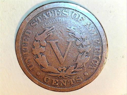 1883 WITH Cents Liberty Nickel---Good (price drop 7/2)
