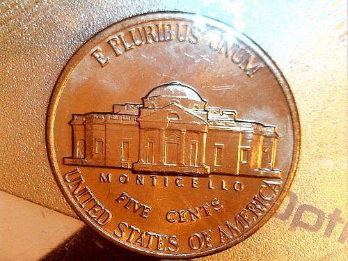 1988 D Jefferson Nickel---BU IN CELLO (price dropped 7/18)