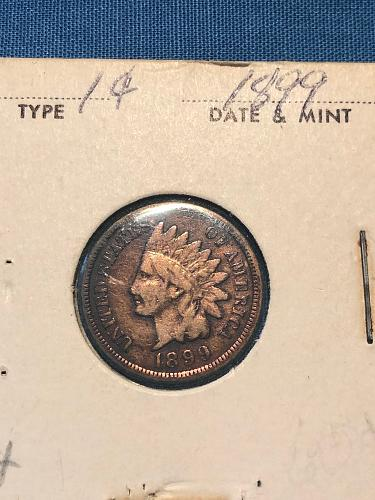 Indian Head Cent 1899