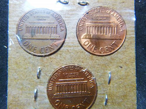 Small Cents >> Lincoln Memorial Cent >> 1970-P,D&S