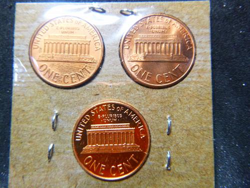 1987 P,D&S Lincoln Memorial Cent Small Cents