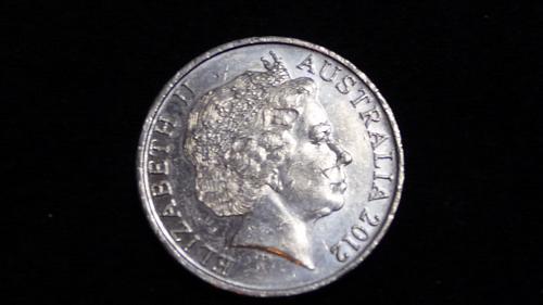 2012 AUSTRALIA 20 CENT COIN IN AU CONDITION C-30-21