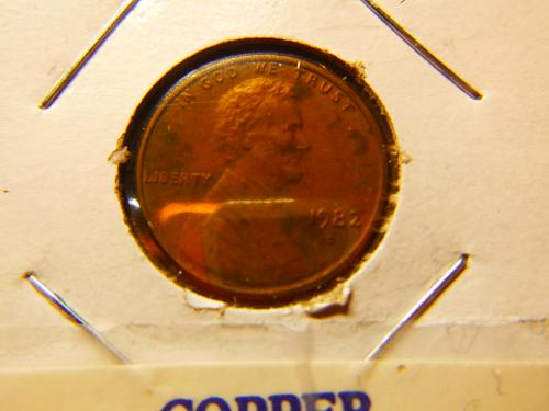 1982 D Lincoln Memorial Cent Small Cents: Copper - Large Date