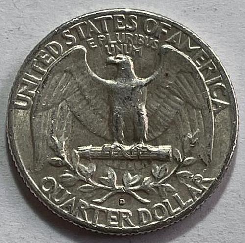 1962 D Washington Quarters 90% Silver Composition 3644