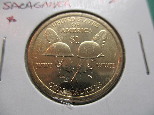 2016-D  Sacagawea Dollar.  Item: DS 16D-04.