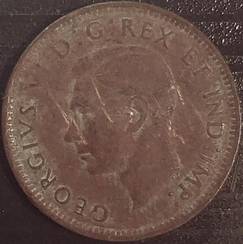Canada 1 Cent 1943 VG