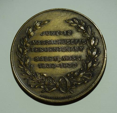 1930 MASSACHUSETTS TERCENTENARY MEDAL