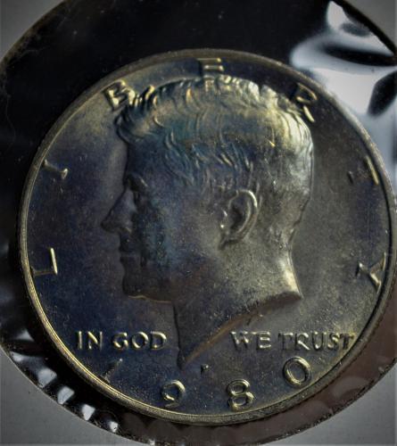 1980 P Kennedy Half Dollar - BU