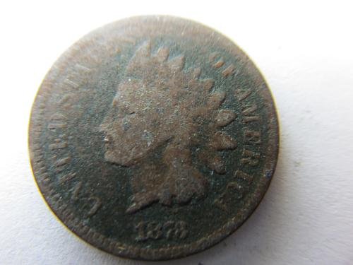 1873 P Indian Head Cent Open 3