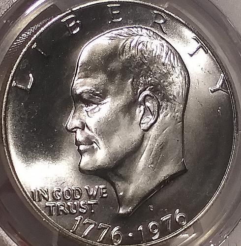 PCGS MS 67 1976S 40% Silver Eisenhower Dollar #2