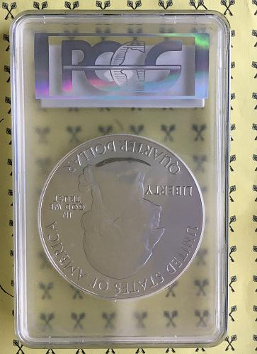 2012 5 Oz SILVER Denali National Park PCGS MS 69 DMPL First Strike Mercanti sign