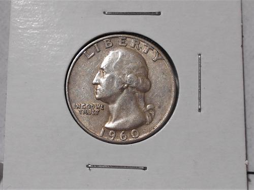 1960 D Washington quarter. Nice higher grade coin