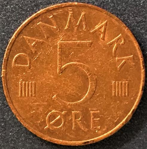 Denmark - 1986 - 5 Ore