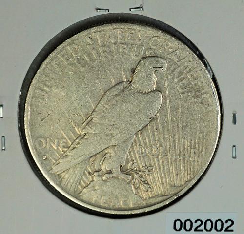1935 S Peace $1
