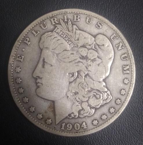1 dollar 1904 s