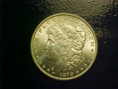 1878 S MORGAN DOLLAR         an04