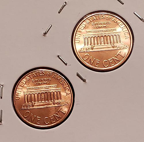 1995 P and D Lincoln Memorial Cents