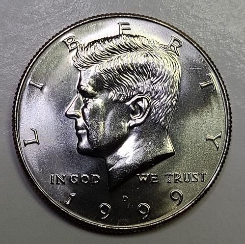 1999-D Kennedy Half Dollar MS-65 (GEM)