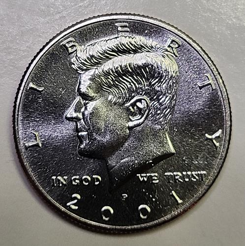 2001-P Kennedy Half Dollar MS-65 (GEM)