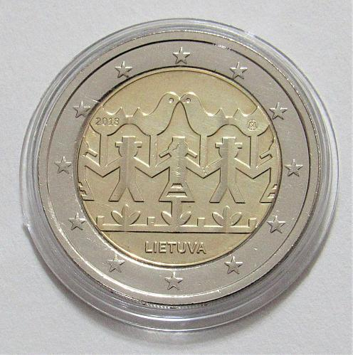 2018 Lithuania Commemorative 2 Euro - Uncirculated
