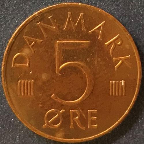 Denmark - 1983 - 5 Ore