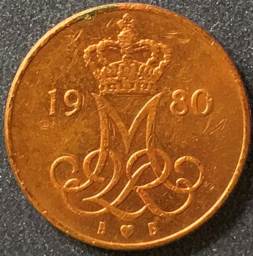 Denmark - 1980 - 5 Ore [#3]