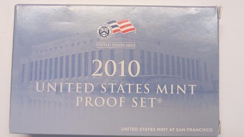 2010 S U.S. mint Proof Coin Set 14 coin set