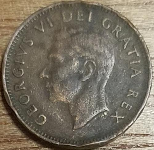 Canada 1 Cent 1951 VG