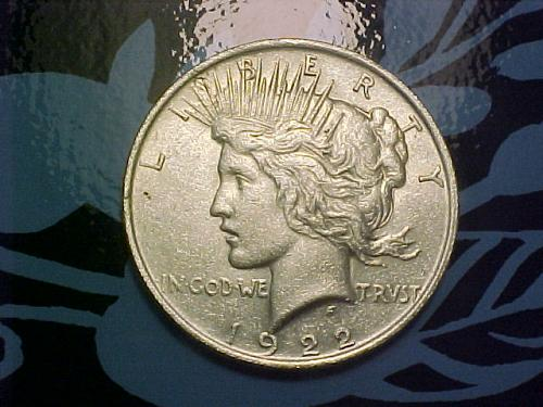 1922 PEACE DOLLAR    an45