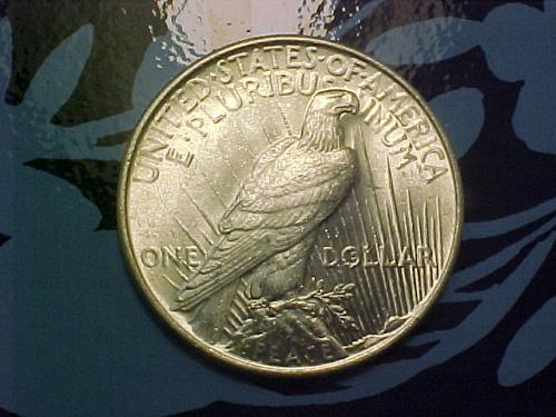 1924 PEACE DOLLAR    an47