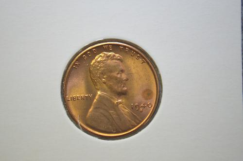 1940 S Lincoln Wheat Cent Small Cents CH/BU