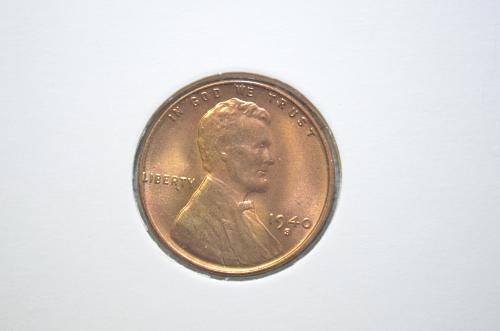 1940 S Lincoln Wheat Cent Small Cents GEM BU