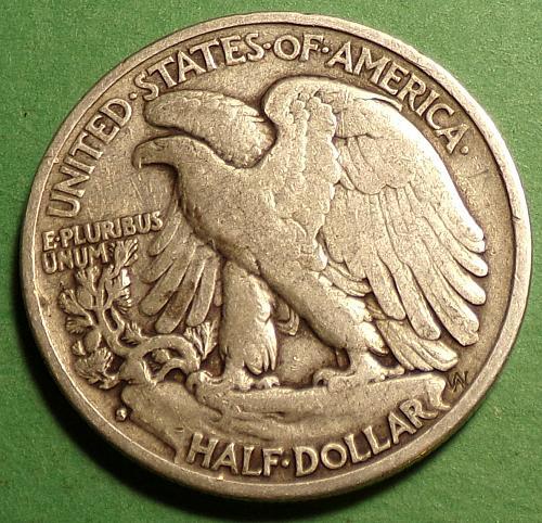 1940 S Walking Liberty Half Dollar