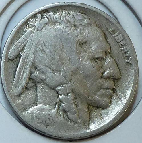 1916-P Very Fine Grade Buffalo Nickel  ( 4412 )
