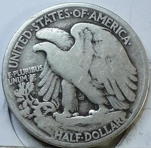 1920-P Walking Liberty Half Dollar in Fine Grade ( H-413 )