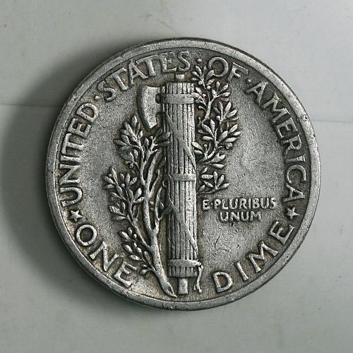 Mercury Dime 1941 P VF+