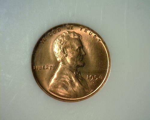 1954 S  LINCOLN CENT   MINT STATE  NICE LOOKING COIN!!