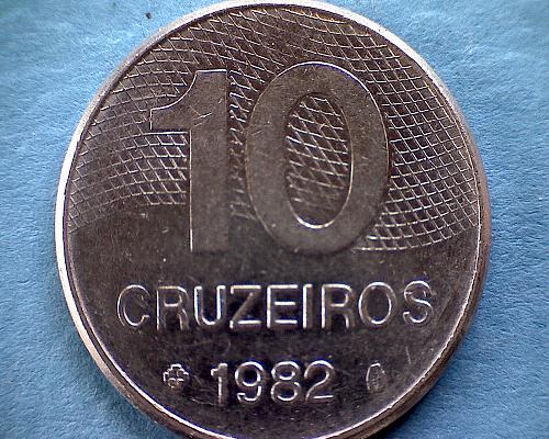 1982 BRAZIL TEN CRUZEIROS