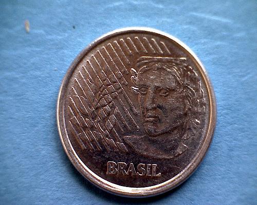 1997 BRAZIL TEN CENTAVOS