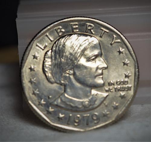 1979 D Susan B Anthony Dollar - BU