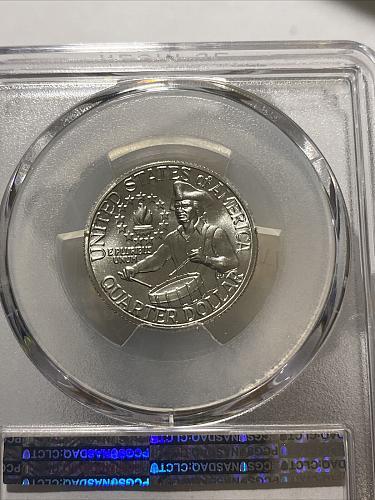 1976-S Washington Silver Quarter, PCGS MS67 BLAST WHITE