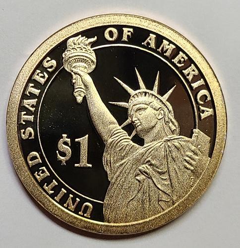 2007-S John Adams Presidential Dollar Proof-66 (GEM+)
