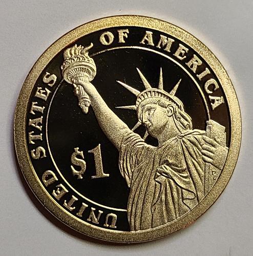 2007-S Madison Presidential Dollar Proof-65 (GEM)
