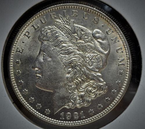 1921 Morgan Silver Dollar - High Grade BU