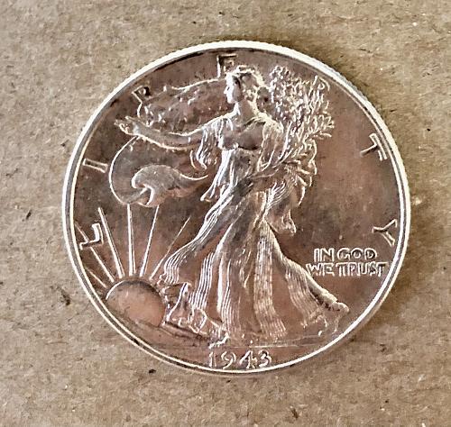 1943 Walking Liberty - P Half Dollar