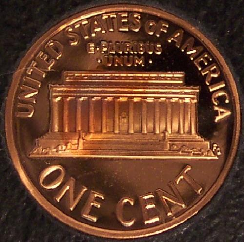 2006-S DCAM Proof Lincoln Memorial Cent #0481